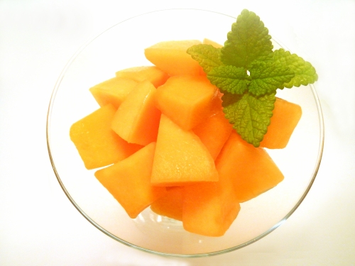 melon and mint