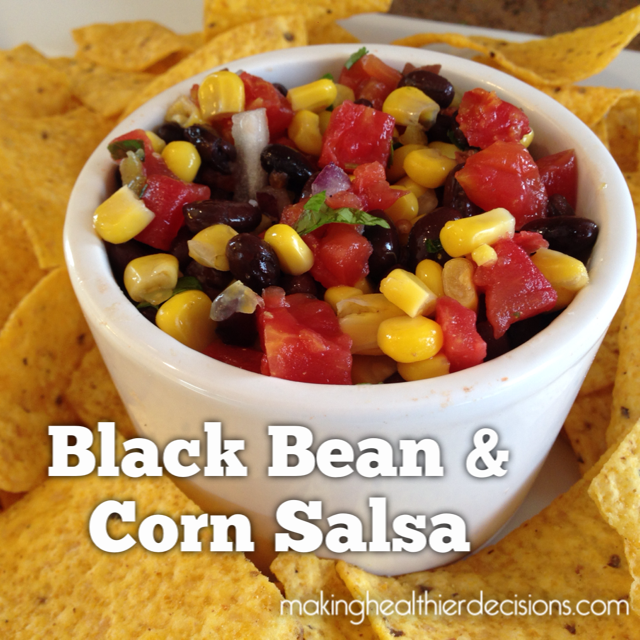 Black Bean & Corn Salsa | makinghealthierdecisions | Cook It Quick!