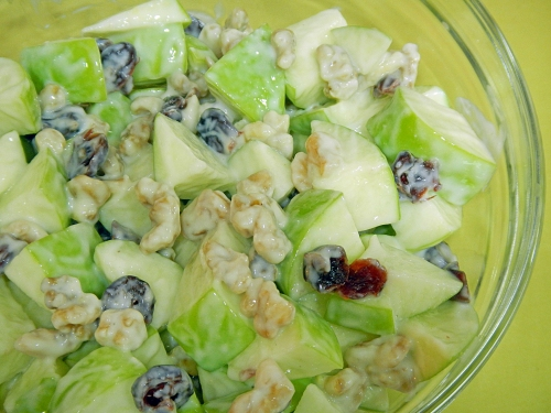 5-Ingredient Waldorf Salad (link to download the recipe)