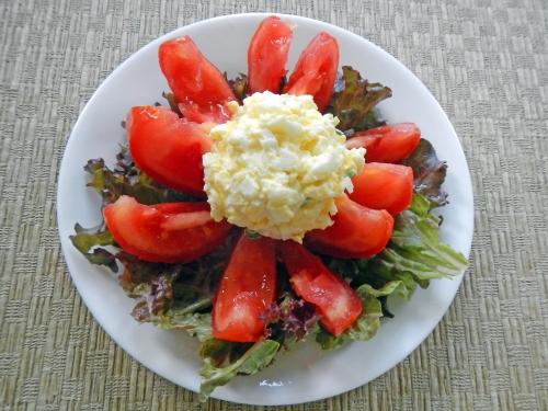 tomato-egg-salad