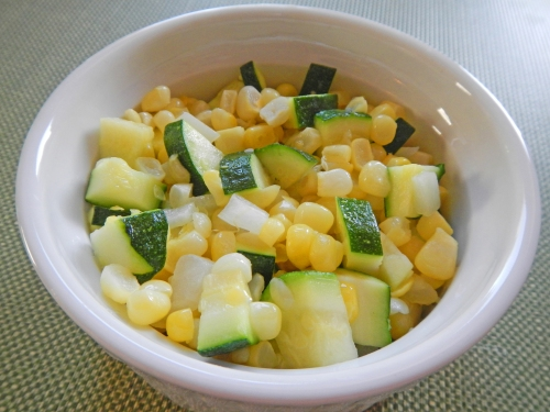 Sauteed Sweet Corn and Zucchini
