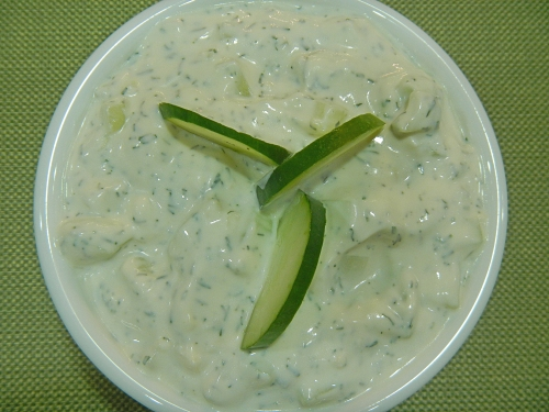 Dill Cucumber Sauce recipe
