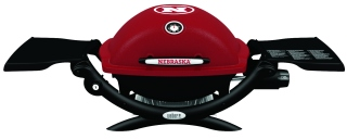 Husker-themed grill